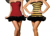 Sexy bumble bee fancy dress costumes