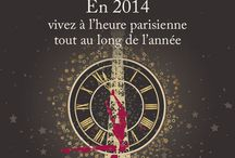 HaPpy NeW yEar ! BoNne aNnéE / The team at L'Hôtel des Académies et des Arts wishes you a Happy New Year filled with memorable occasions and joyous events. http://ow.ly/sKYsW