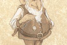 Inspiration Good people / Duendes, elfos, gnomos...