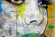 Inspiring art / Paintings,drawing,thinking outside of the square