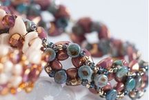 Tee Beads / Brand new Preciosa Tee Beads.  The designs could be endless