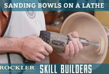 Sanding bowls