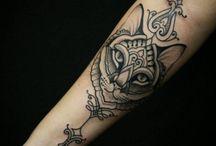 Tatuaggi di gatto