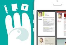 Resume/CV Apps / Resume Mobile Apps / by Skyje