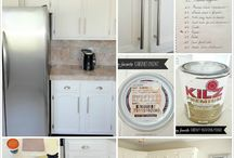 kitchen cabinet makeovers / by Kris Farrimond