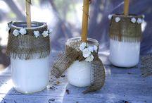 Mason Jars / Mason jars as hat holders