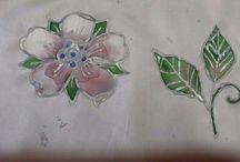 I miei corsi - Pittura su stoffa