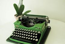 Typewriters and Keyboards / by Wanda