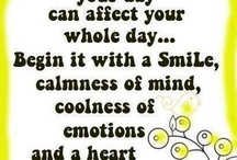 Positive Thoughts / All thoughts and sayings that are positive and uplifting in some shape or form / by Kim Charette