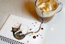 Café desenho