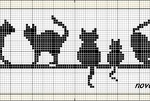 Kedi kanaviçe