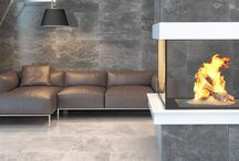 Relight Your Fire / Wood burners, fireplaces and tiles go hand in hand to create a warm and cosy look this season!
