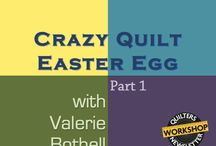 Crazy Quilt Tutorials