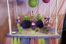 Princess and the Frog Party Cart