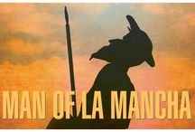 """""""Man of La Mancha"""" - 2016 Season - September 7 - October 2, 2016 / One of the world's most popular musicals, MAN OF LA MANCHA, the """"Impossible Dream"""" musical, is based on Cervantes' masterpiece Don Quixote, and tells of the adventures of a delusional Spanish knight who sallies forth on a quest to restore chivalry to the world, and to claim his lady love.  Winner of 5 Tony Awards,  including Best Musical.  By Dale Wasserman, Mitch Leigh and Joe Darion and starring David Pittsinger."""
