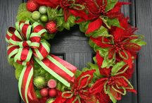 Deco mesh crafts / Wreaths(holiday)