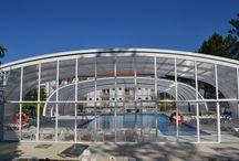 Cubiertas para piscinas / Cubiertas para piscinas AQUATIC® monta la primera cubierta en 1980 http://aquaticproyect.com/cubiertas/