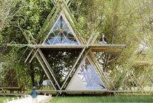 Casas bambu