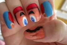 Nail art / The coolest coloured nails ever!