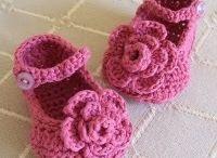 Sapatinhos de crochet