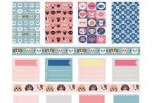 Animal printables / stickers