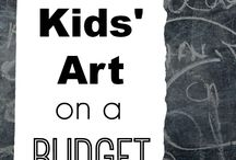 Art Inspiration / Process based art experiences for little ones