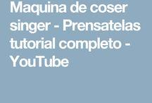 MAQUINA DE COSER, PUNTADAS, TRUCOS Y OTROS
