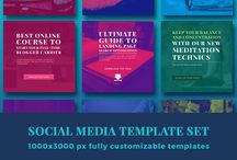 JK Blog Brand Social Media templates