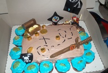 My Son 5th Birthday Pirate Party  / by Samantha Sheriff