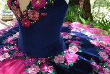 sukienki kwiaty