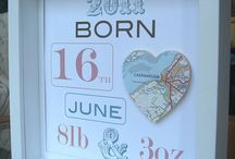 Baby: Newborn Shadow Boxes / Creative ways parents have used their hospital newborn and baby items in shadow boxes! / by Incredible Infant (Heather Taylor)