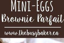 Using leftover easter eggs