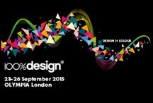 100% DESIGN AT LONDON DESIGN FESTIVAL / 100% Design is the largest design trade event in the UK, taking place on 23-26 September 2015 in new venue Olympia. This year's theme is Design in Colour.