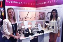 As Seen At / Koolaman Designs team on display at events.