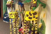 dekorace Afrika
