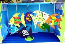 ryby a rybičky a podmořský svět