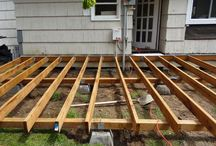 deck platforms & patios & cat houses & chicken coops