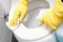 Tvätt och städ tips