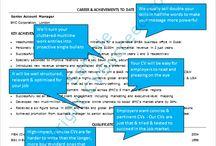 CV Writing / CV writing tips