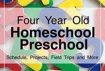 Homeschool 4 years old