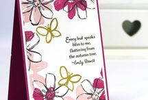 stampin up garden in bloom