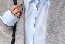 Grey cardigans