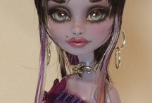 Monster High & Ever After High ooak