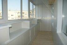 Балконные дизайн