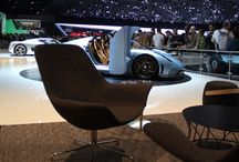 Offecct and Koenigsegg / We teamed up w Koenigsegg in Geneva where they presented the hybrid hypercar Regera.