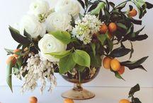 Floral Arrangements / Table art.