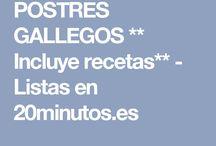 RECETAS GALLEGAS