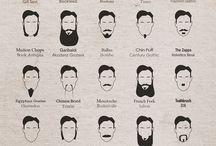 Coupe barbe / Idées de coupes de barbe