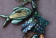 Fimo and clay or resin charm jewelry and other stuff / by Georgina Gates