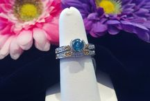 Blue Days of Jewelry / Rings, Necklaces, & Earrings with all different styles. 2 tone, Halo's, Dangly, and more